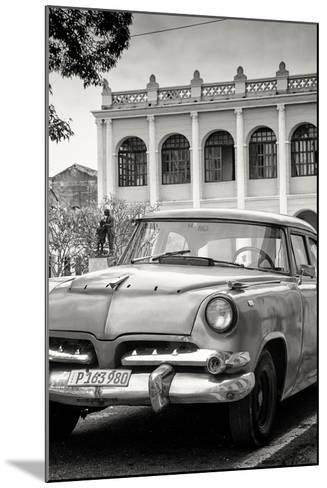 Cuba Fuerte Collection B&W - Cuban Classic Car III-Philippe Hugonnard-Mounted Photographic Print