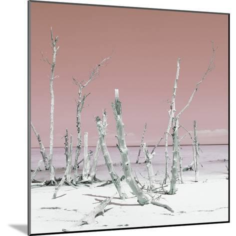 Cuba Fuerte Collection SQ - Wild Ocean - Pastel Red-Philippe Hugonnard-Mounted Photographic Print