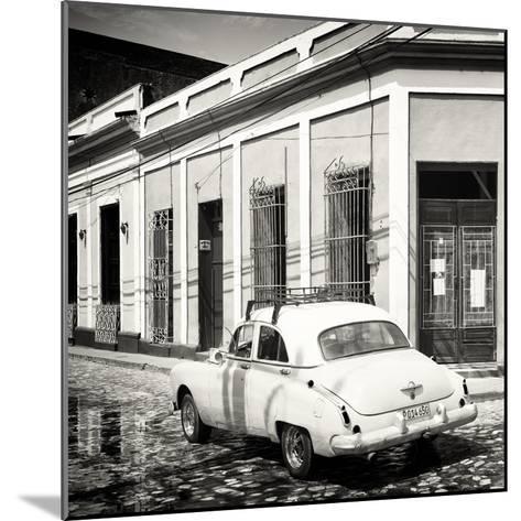 Cuba Fuerte Collection SQ BW - Cuban Street Scene-Philippe Hugonnard-Mounted Photographic Print