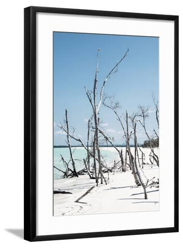 Cuba Fuerte Collection - Tropical Wild Beach III-Philippe Hugonnard-Framed Art Print