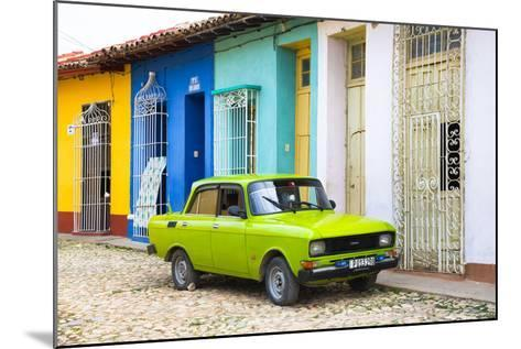 Cuba Fuerte Collection - Vintage Car in Trinidad-Philippe Hugonnard-Mounted Photographic Print