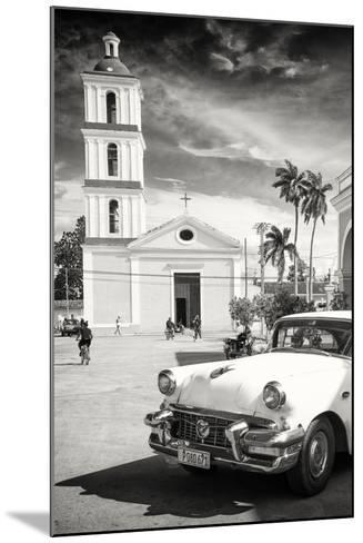 Cuba Fuerte Collection B&W - Iglesia San Juan Bautista de Remedios-Philippe Hugonnard-Mounted Photographic Print