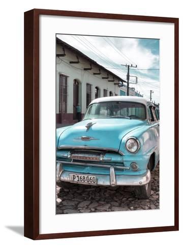 Cuba Fuerte Collection - Plymouth Classic Car IV-Philippe Hugonnard-Framed Art Print