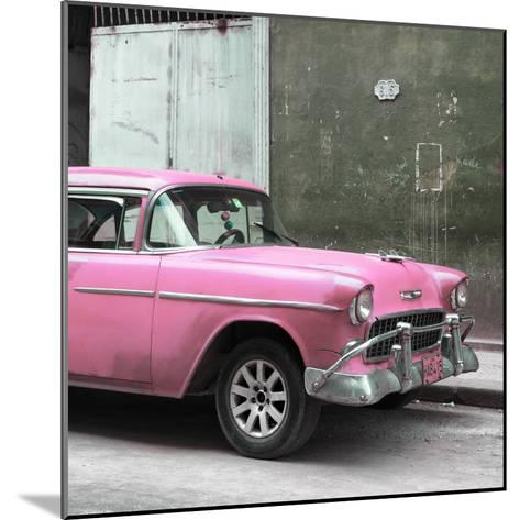 Cuba Fuerte Collection SQ - Pink Chevy-Philippe Hugonnard-Mounted Photographic Print