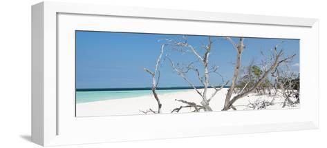 Cuba Fuerte Collection Panoramic - Tropical Beach Nature-Philippe Hugonnard-Framed Art Print