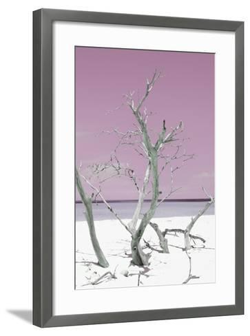 Cuba Fuerte Collection - Pink Stillness II-Philippe Hugonnard-Framed Art Print