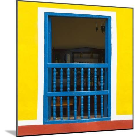Cuba Fuerte Collection SQ - Colorful Window-Philippe Hugonnard-Mounted Photographic Print