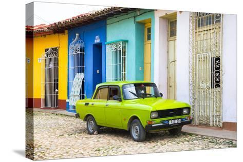 Cuba Fuerte Collection - Vintage Car in Trinidad-Philippe Hugonnard-Stretched Canvas Print