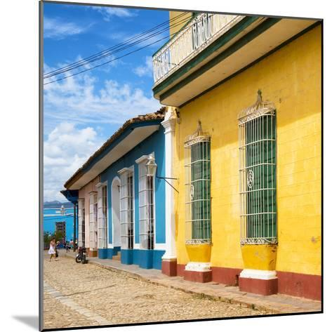 Cuba Fuerte Collection SQ - Colorful Facades in Trinidad-Philippe Hugonnard-Mounted Photographic Print