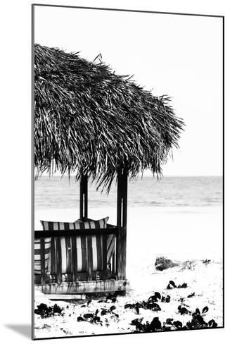 Cuba Fuerte Collection B&W - Quiet Beach II-Philippe Hugonnard-Mounted Photographic Print