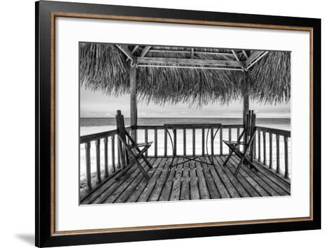 Cuba Fuerte Collection B&W - Ocean View II-Philippe Hugonnard-Framed Art Print