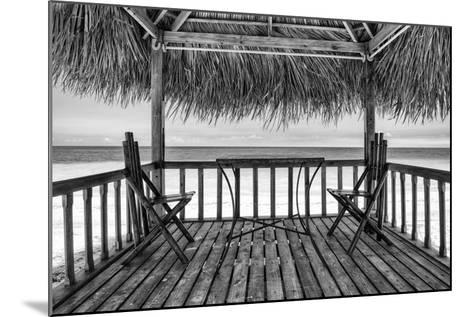 Cuba Fuerte Collection B&W - Ocean View II-Philippe Hugonnard-Mounted Photographic Print