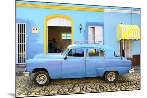Cuba Fuerte Collection - Cuban Blue II-Philippe Hugonnard-Mounted Photographic Print