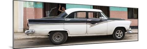 Cuba Fuerte Collection Panoramic - American Classic Car in Havana-Philippe Hugonnard-Mounted Photographic Print