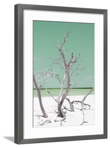 Cuba Fuerte Collection - Green Stillness II-Philippe Hugonnard-Framed Art Print