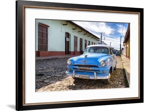 Cuba Fuerte Collection - Plymouth Classic Car-Philippe Hugonnard-Framed Art Print