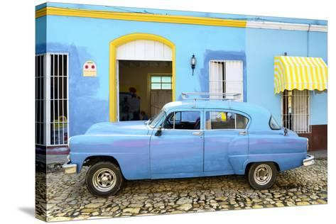 Cuba Fuerte Collection - Cuban Blue II-Philippe Hugonnard-Stretched Canvas Print