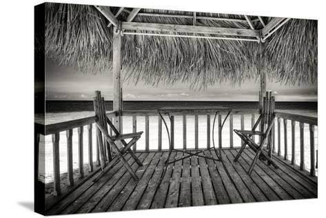 Cuba Fuerte Collection B&W - Ocean View-Philippe Hugonnard-Stretched Canvas Print