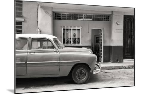 Cuba Fuerte Collection B&W - Vintage Classic American Car-Philippe Hugonnard-Mounted Photographic Print