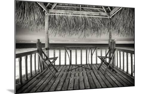 Cuba Fuerte Collection B&W - Ocean View-Philippe Hugonnard-Mounted Photographic Print