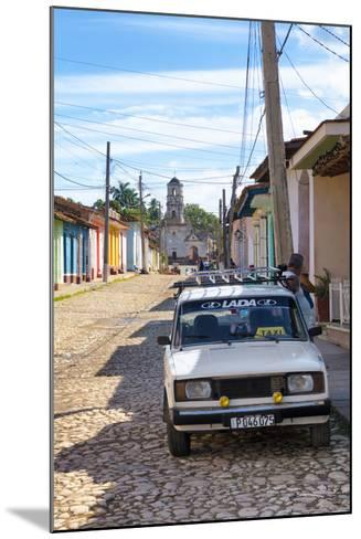Cuba Fuerte Collection - Cuban Street Scene in Trinidad II-Philippe Hugonnard-Mounted Photographic Print