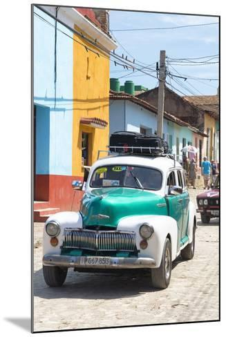 Cuba Fuerte Collection - Taxi in Trinidad-Philippe Hugonnard-Mounted Photographic Print