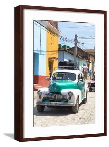 Cuba Fuerte Collection - Taxi in Trinidad-Philippe Hugonnard-Framed Art Print