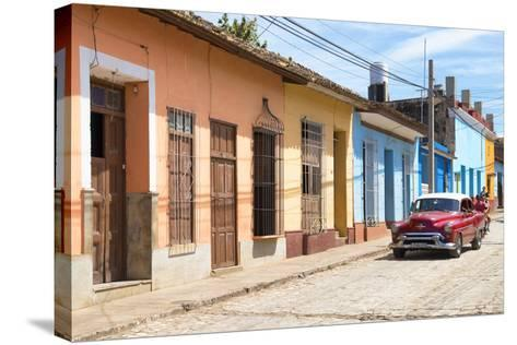 Cuba Fuerte Collection - Street Scene in Trinidad III-Philippe Hugonnard-Stretched Canvas Print
