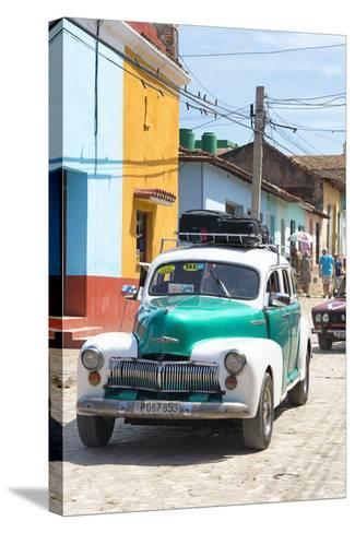 Cuba Fuerte Collection - Taxi in Trinidad-Philippe Hugonnard-Stretched Canvas Print