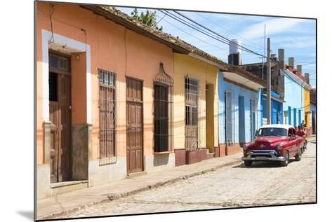Cuba Fuerte Collection - Street Scene in Trinidad III-Philippe Hugonnard-Mounted Photographic Print