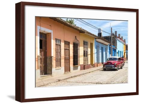 Cuba Fuerte Collection - Street Scene in Trinidad III-Philippe Hugonnard-Framed Art Print
