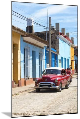 Cuba Fuerte Collection - Street Scene in Trinidad V-Philippe Hugonnard-Mounted Photographic Print