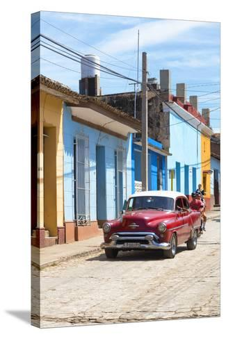Cuba Fuerte Collection - Street Scene in Trinidad V-Philippe Hugonnard-Stretched Canvas Print