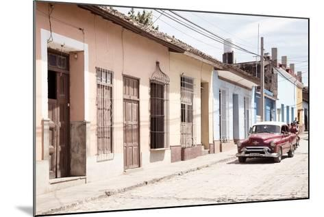 Cuba Fuerte Collection - Street Scene in Trinidad IV-Philippe Hugonnard-Mounted Photographic Print