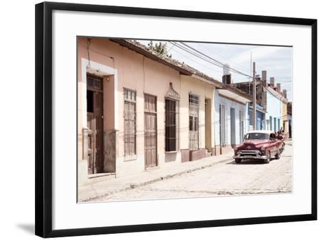 Cuba Fuerte Collection - Street Scene in Trinidad IV-Philippe Hugonnard-Framed Art Print