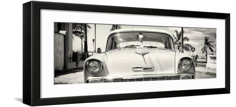 Cuba Fuerte Collection Panoramic - Old Chevy-Philippe Hugonnard-Framed Art Print