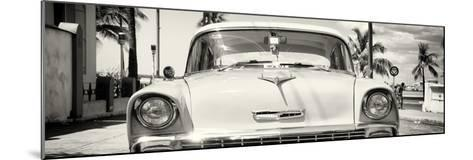 Cuba Fuerte Collection Panoramic - Old Chevy-Philippe Hugonnard-Mounted Photographic Print
