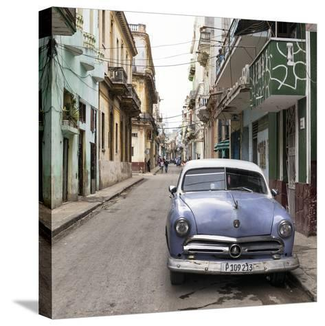 Cuba Fuerte Collection SQ - Street Scene in Havana-Philippe Hugonnard-Stretched Canvas Print