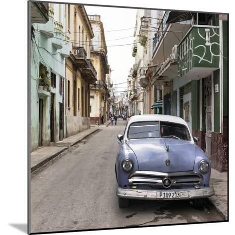 Cuba Fuerte Collection SQ - Street Scene in Havana-Philippe Hugonnard-Mounted Photographic Print