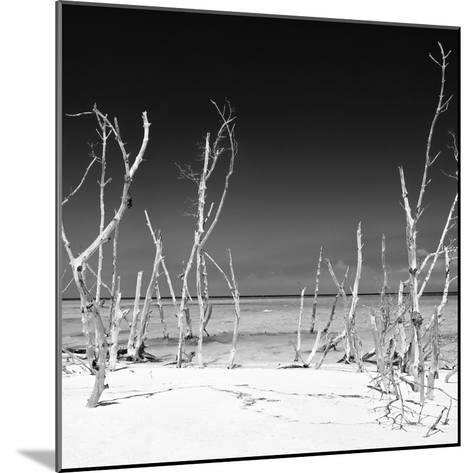 Cuba Fuerte Collection SQ BW - Wild Beach-Philippe Hugonnard-Mounted Photographic Print