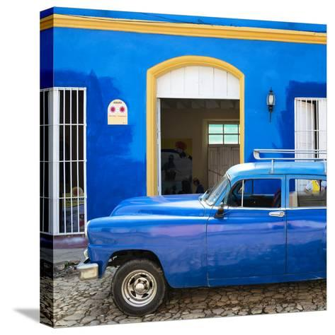 Cuba Fuerte Collection SQ - Cuban Blue-Philippe Hugonnard-Stretched Canvas Print