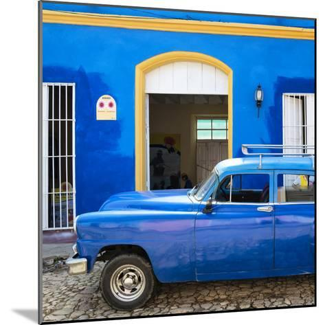 Cuba Fuerte Collection SQ - Cuban Blue-Philippe Hugonnard-Mounted Photographic Print