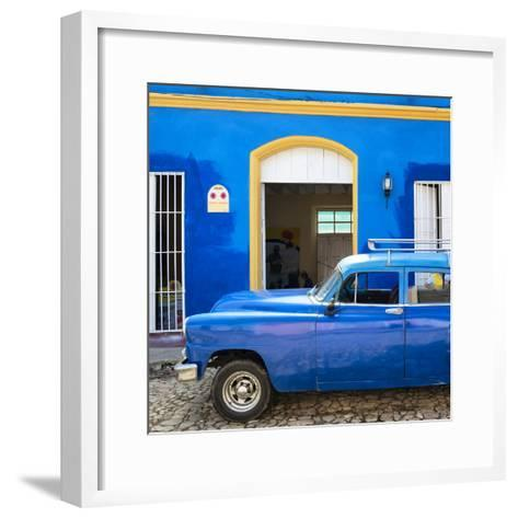 Cuba Fuerte Collection SQ - Cuban Blue-Philippe Hugonnard-Framed Art Print