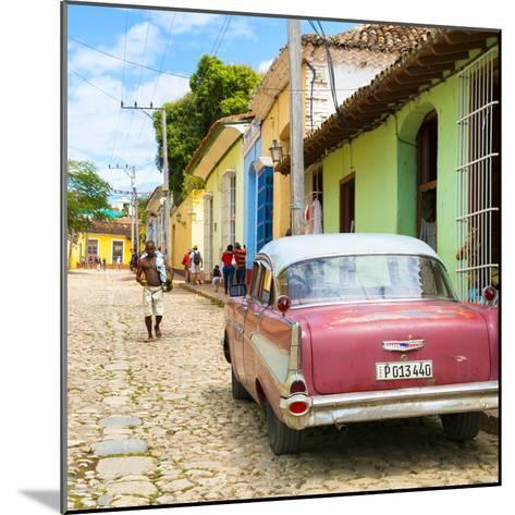 Cuba Fuerte Collection SQ - Street Scene Trinidad-Philippe Hugonnard-Mounted Photographic Print