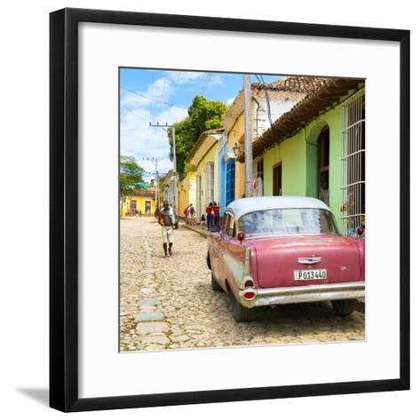 Cuba Fuerte Collection SQ - Street Scene Trinidad-Philippe Hugonnard-Framed Art Print