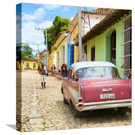 Cuba Fuerte Collection SQ - Street Scene Trinidad-Philippe Hugonnard-Stretched Canvas Print