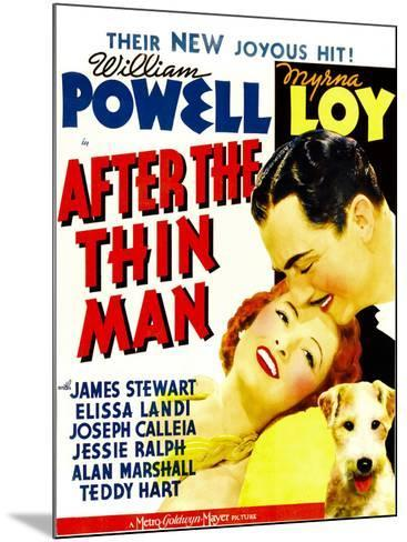 After the Thin Man, Myrna Loy, William Powell, Asta, 1936--Mounted Poster
