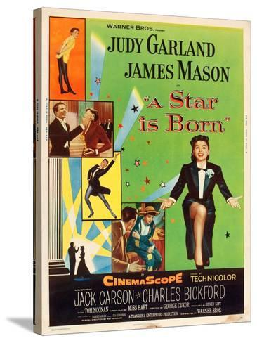 A Star is Born, Judy Garland, 1954--Stretched Canvas Print