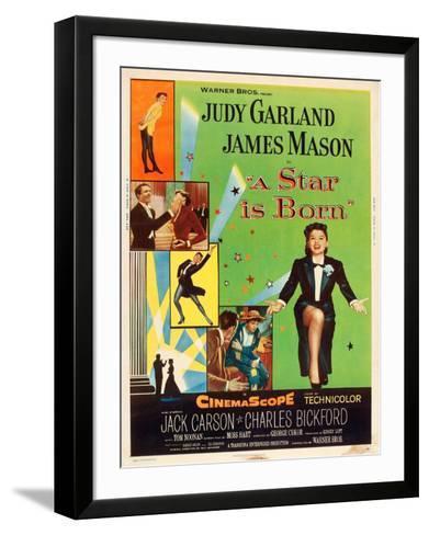 A Star is Born, Judy Garland, 1954--Framed Art Print
