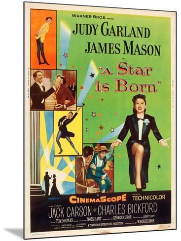 A Star is Born, Judy Garland, 1954--Mounted Poster